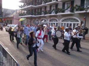 Wedding Parade 2nd Line Brass Band in New Orleans