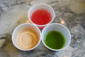 Juice Press Samples - Almond Butter Cup Smoothie, Watermelon Super Cleanser, and Mother Earth, Williamsburg, Brooklyn